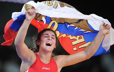 Россиянки завоевали три медали в четвертый день чемпионата мира по борьбе