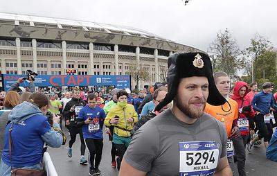 Вопреки погоде. В столице в седьмой раз прошел Московский марафон