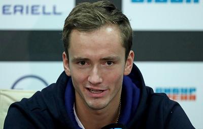 Теннисист Медведев: стал играть лучше после предложения будущей жене