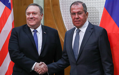 Лавров и Помпео проведут встречу 27 сентября в штаб-квартире ООН