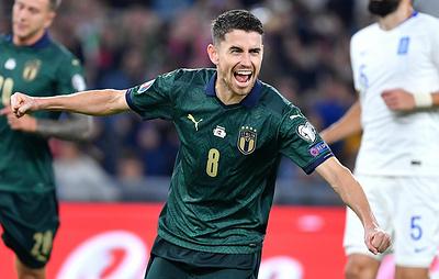 Сборная Италии обыграла греков и досрочно вышла на ЧЕ-2020 по футболу