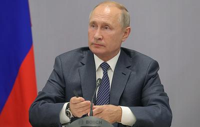 Путин сообщил о продолжении разработок в России передовых вооружений