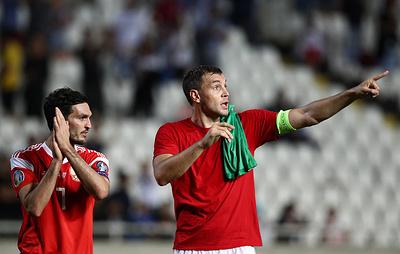 Футболист Оздоев ждет, что арена в Петербурге на матче с бельгийцами будет заполнена