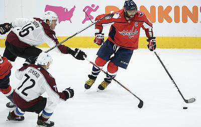 """Задоров помог """"Колорадо"""" победить """"Вашингтон"""" в матче НХЛ. Овечкин набрал два очка"""
