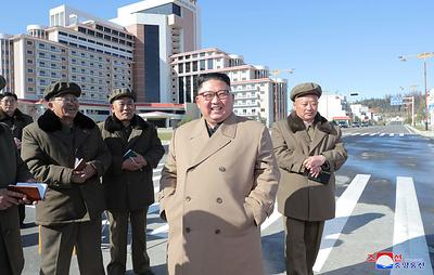 Ким Чен Ын посетил уезд Самчжиён