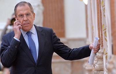 В МИД России назвали дезинформацией информацию о звонке Лаврова Макею