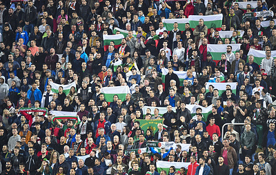 Пятеро футбольных фанатов задержаны в Болгарии за проявления расизма на игре с англичанами