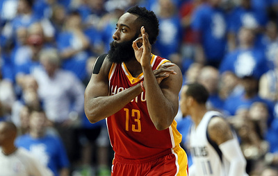 "Дабл-дабл Хардена не помог ""Хьюстону"" победить в предсезонном матче НБА с ""Сан-Антонио"""