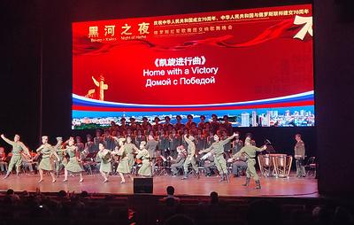 Публика Китая проявляет большой интерес к выступлениям музыкантов из России