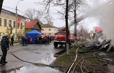 До семи увеличилось число погибших при пожаре под Ярославлем