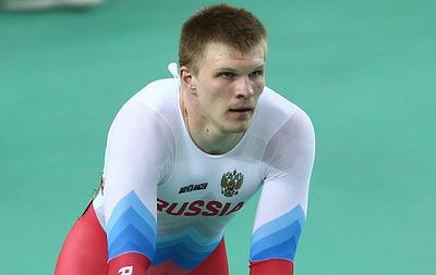 Призер ОИ Дмитриев стал серебряным призером в кейрине на чемпионате Европы по велотреку