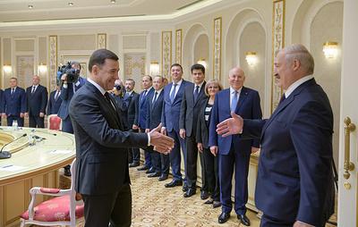 Белоруссия предложила Свердловской области развивать кооперационные связи