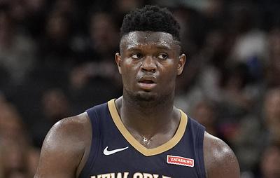 """Баскетболист """"Нью-Орлеана"""" Уильямсон пропустит до восьми недель после операции на колене"""