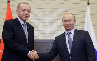 Пресс-конференция Путина и Эрдогана. Видеотрансляция