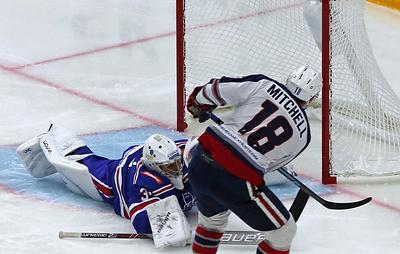 СКА потерпел четвертое поражение подряд в КХЛ