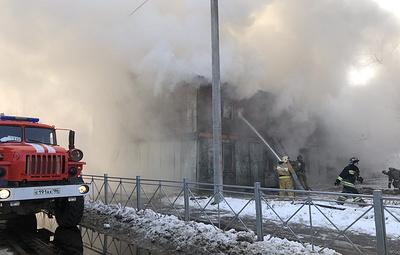 Открытое горение в жилом доме в Югре ликвидировали
