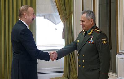 Шойгу назвал меморандум России и Турции единственным способом сохранить суверенитет Сирии