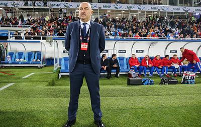 Черчесов: штаб сборной России по футболу просчитал все при подготовке к матчам в ноябре