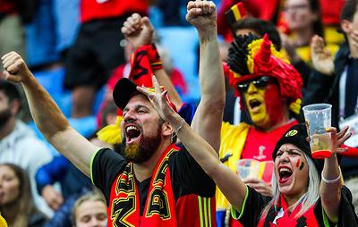 Свыше 200 болельщиков поддержат сборную Бельгии по футболу в матче с россиянами