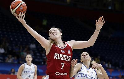 Мария Вадеева назначена капитаном сборной России по баскетболу