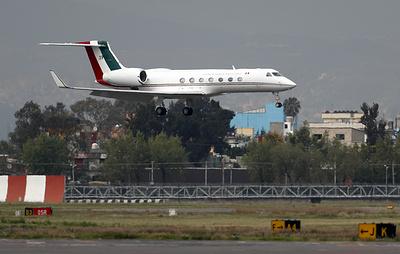 Reuters: самолет с экс-президентом Боливии Эво Моралесом приземлился в Мехико