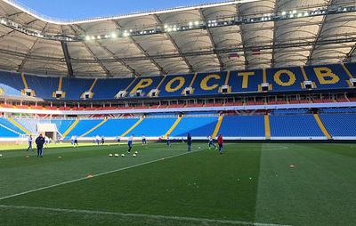 Все футболисты молодежной сборной России участвуют в тренировке перед игрой с латвийцами