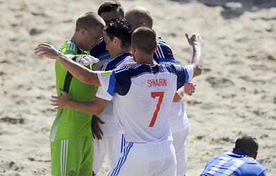 Стал известен состав сборной России по пляжному футболу на ЧМ-2019 в Парагвае