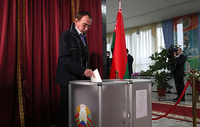 Явка на парламентских выборах в Белоруссии составила 37,14% избирателей