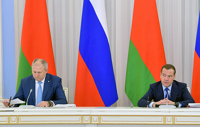 Медведев сообщил, что Россия и Белоруссия подготовят новые версии дорожных карт