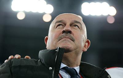 Черчесов не имеет претензий к игре Дзюбы в матче с командой Сан-Марино