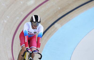 Россиянка Войнова стала первой в спринте на этапе Кубка мира по велоспорту на треке