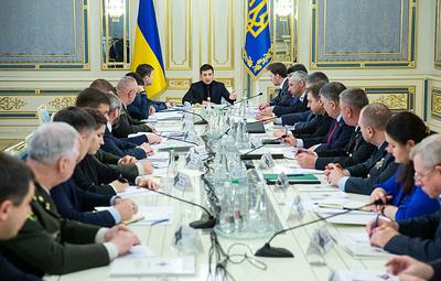 СНБО Украины согласовал сценарий реинтеграции Донбасса на закрытом заседании