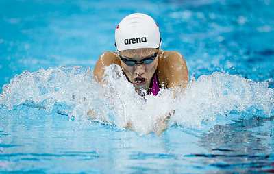 Темникова завоевала золото в плавании на 200 м брассом на ЧЕ на короткой воде