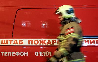 В Волгограде загорелась маршрутка с пассажирами