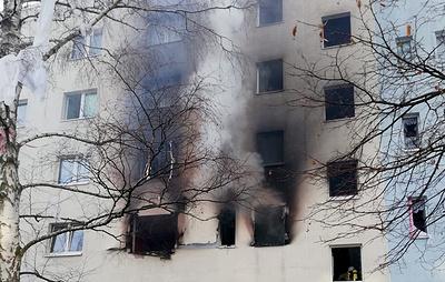 Не менее 25 человек пострадали в результате взрыва в жилом доме в Германии