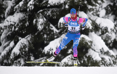 Тренеры определили состав женской эстафеты на этап Кубка мира по биатлону в Австрии