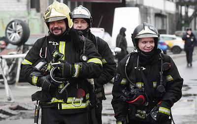 Пожар на складе на юге Москвы полностью потушен
