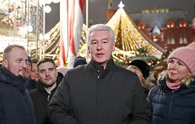 """Собянин пригласил москвичей на фестиваль """"Путешествие в Рождество"""""""