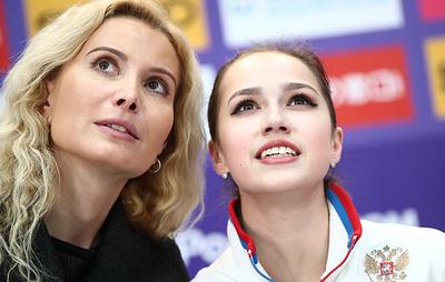 Загитова заявила, что продолжит работать с Тутберидзе