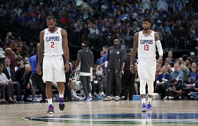 """""""Клипперс"""" обыграли """"Миннесоту"""" в матче НБА, Джордж и Леонард набрали в сумме 88 очков"""