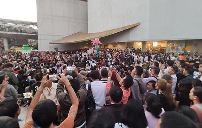 В Таиланде проходит первый крупный митинг со времен военного переворота 2014 года