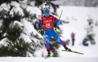 Логинов доволен вторым местом в гонке преследования на этапе Кубка мира по биатлону