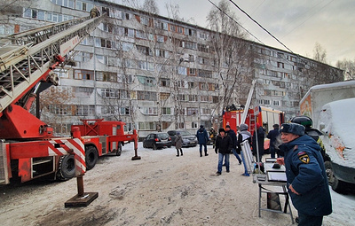 В Тюмени ликвидировали пожар в многоквартирном доме