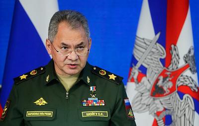 Шойгу объявил 31 декабря выходным днем в Вооруженных силах