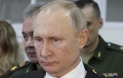 Путин заявил, что доля современных вооружений в МВФ должна составить 70%