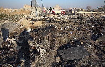 Bloomberg: Иран заявил, что украинский самолет был сбит случайно