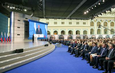 Послания президента России Федеральному собранию в цифрах