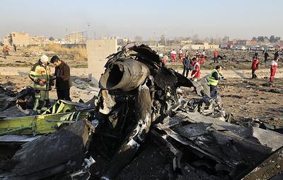 На Украину доставили тела погибших в авиакатастрофе в Иране