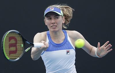 Россиянка Александрова вышла во второй круг Australian Open