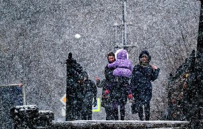 Синоптики обещают регионам Центральной России мокрый снег и небольшие заморозки